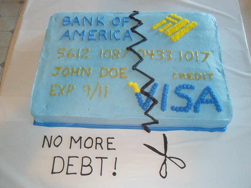 Happy Debt-Free Anniversary!